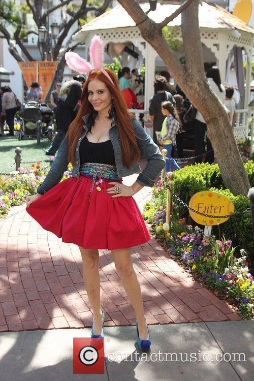 Phoebe Price with her dog Henry shopping at...