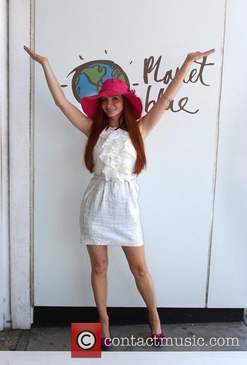 Displays her Phoebe Price Designs hat range at...