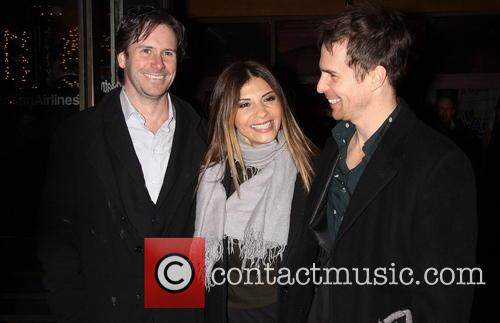 Josh Hamilton; Callie Thorne; Sam Rockwell Opening night...