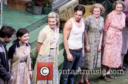 Ben Rappaport, Madeleine Martin, Maggie Grace, Sebastian Stan, Mare Winningham and Ellen Burstyn 1