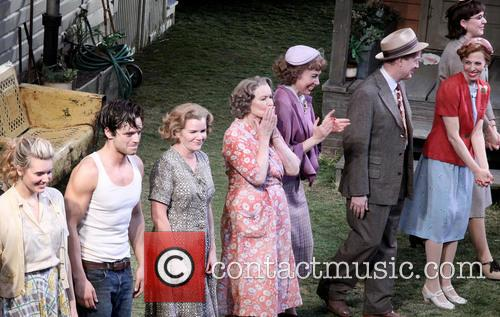Maggie Grace, Sebastian Stan, Mare Winningham, Ellen Burstyn, Elizabeth Marvel, Reed Birney, Maddie Corman and Cassie Beck 2