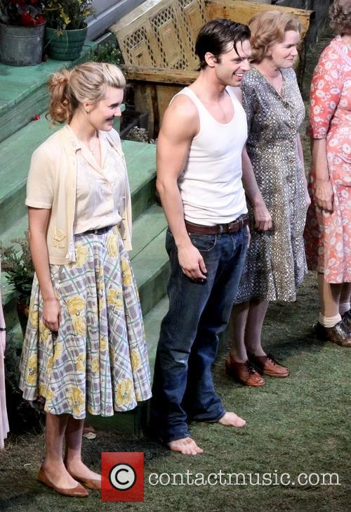 Maggie Grace, Sebastian Stan and Mare Winningham 1
