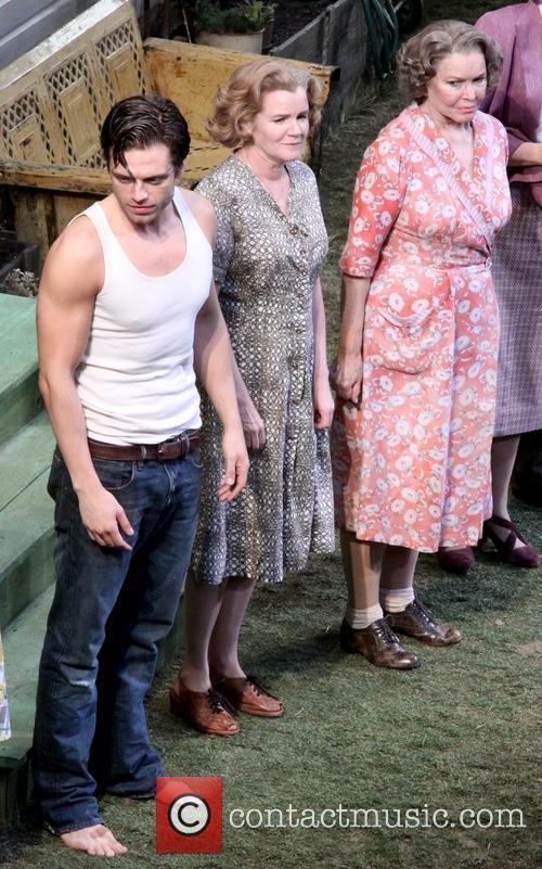 Sebastian Stan, Mare Winningham and Ellen Burstyn 2