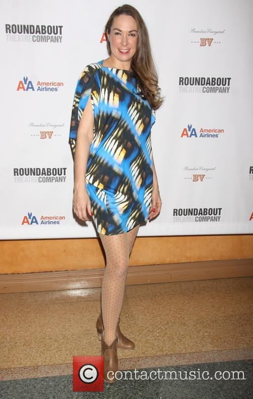 Elizabeth Marvel The opening night after party for...