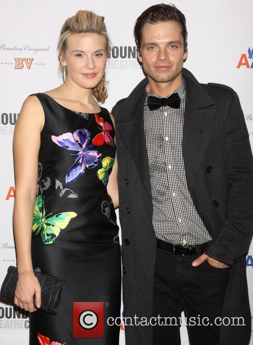 Maggie Grace and Sebastian Stan 5
