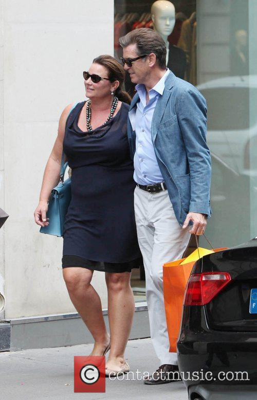 Pierce Brosnan and Keely Shaye Smith 6