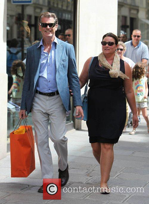 Pierce Brosnan and Keely Shaye Smith 1