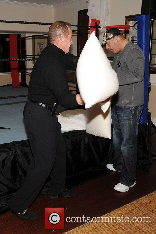 Michael Lohan at the Damon Feldman Pillow Fight...