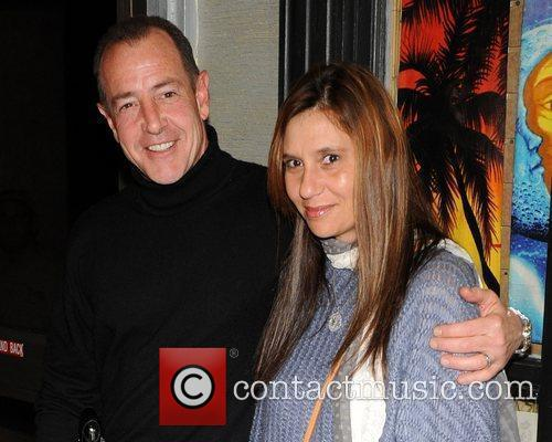 Michael Lohan and his new girlfriend at the...