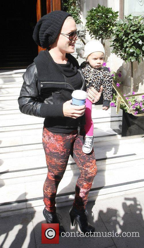 Pink and Alecia Moore
