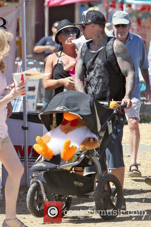Pink and Carey Hart 6