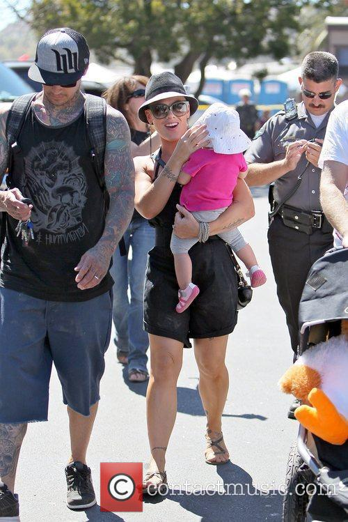 Pink and Carey Hart 13