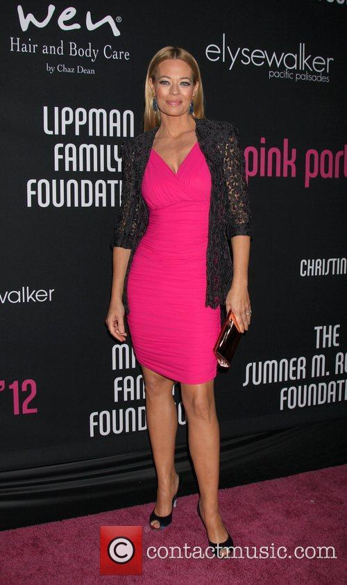 jeri ryan arrives at quotthe pink party 4147943