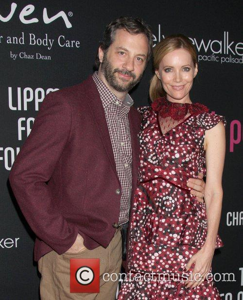 Judd Apatow and Leslie Mann 1