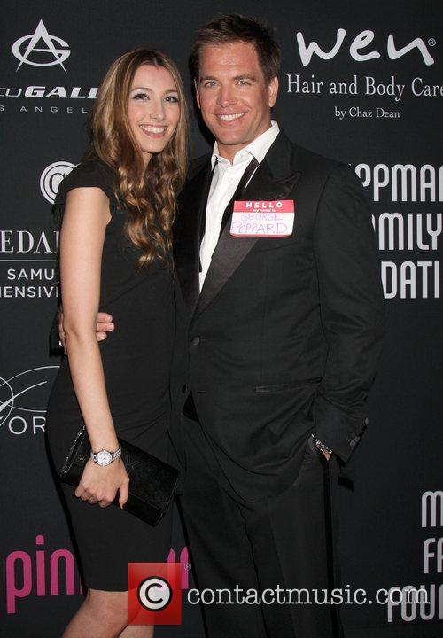 Michael Weatherly, Bojana Jankovic, Pink Party