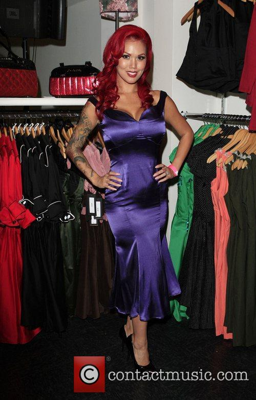 Elaina Soto The opening of the 'Pinup Girl...