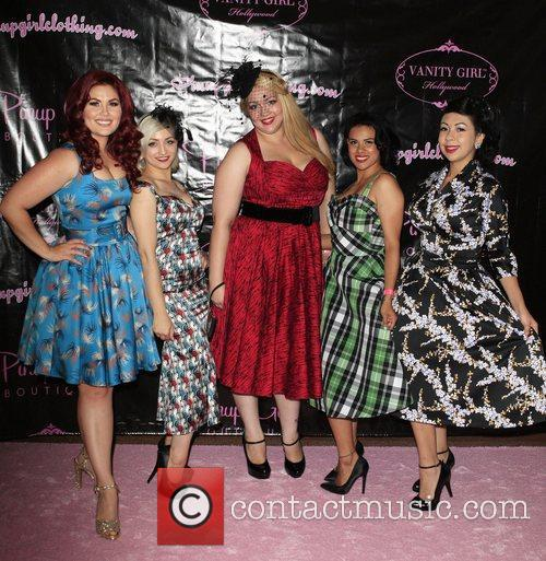 Guests The opening of the 'Pinup Girl Boutique'...