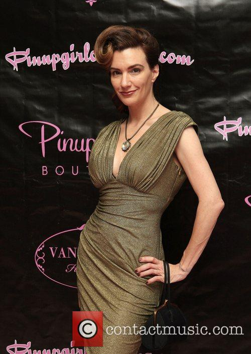 Laura Byrnes The opening of the 'Pinup Girl...