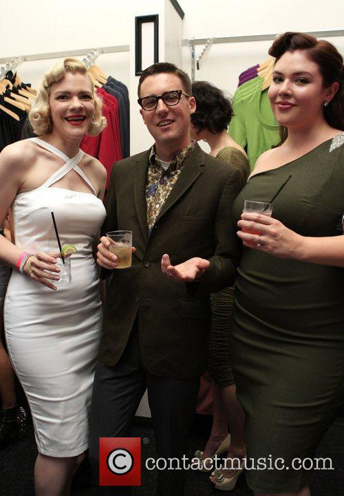 The opening of the 'Pinup Girl Boutique'