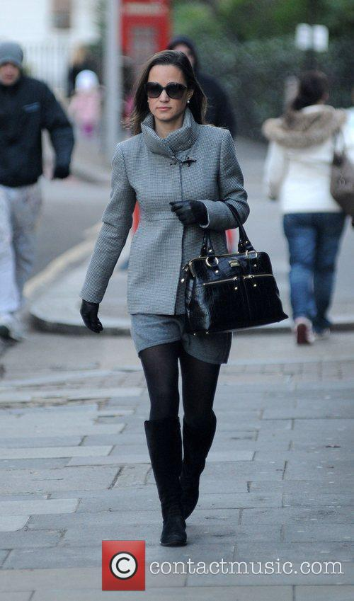 Arriving for work in West London