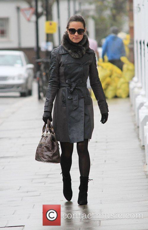 Pippa Middleton walking to work in West London...