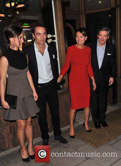 Pippa Middleton, James Middleton, Carole Middleton and Michael Middleton 3