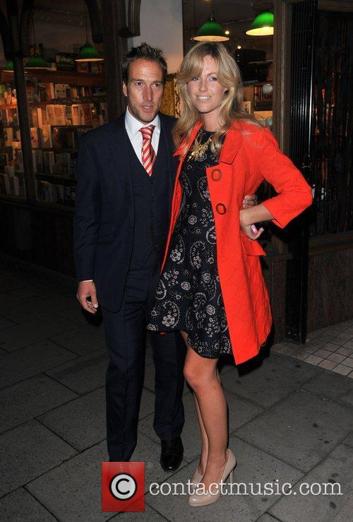 Ben Fogle and wife Marina Pippa Middleton signs...