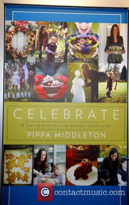 Pippa Middleton's book cover 'Celebrate' The cover of...