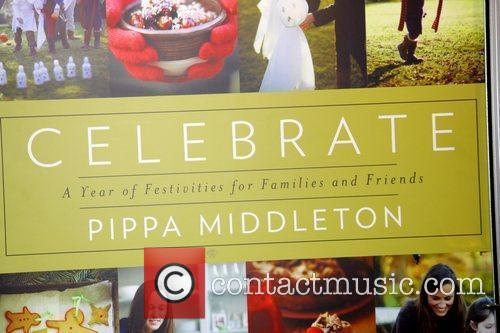 The cover of Pippa Middleton book 'Celebrate' was...