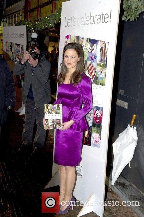 Pippa Middleton promotes her new party planning book...
