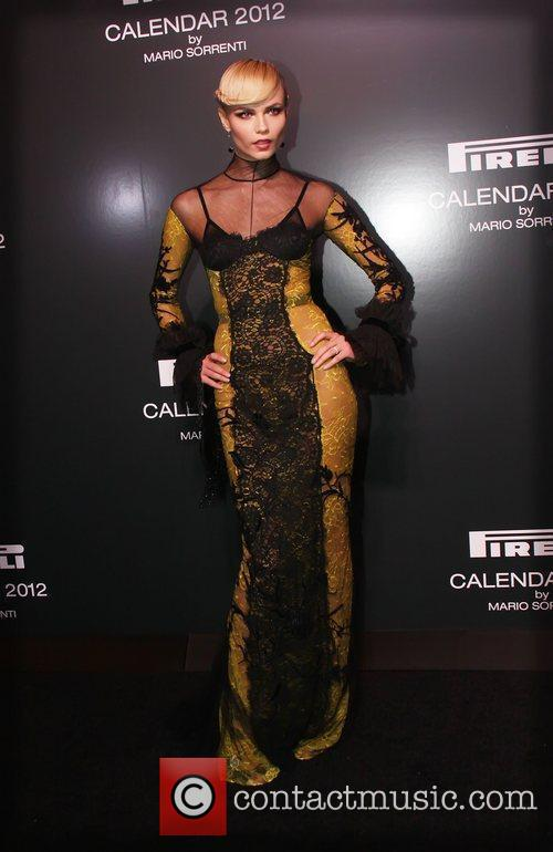 The 2012 Pirelli Calendar gala dinner at the...