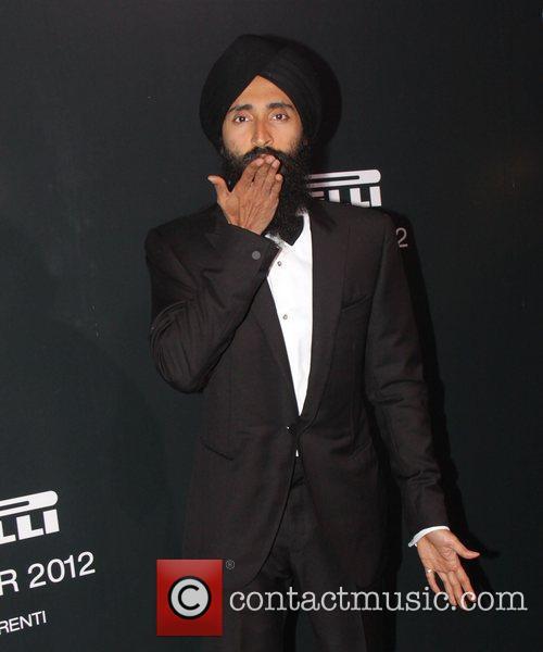 waris ahluwalia the 2012 pirelli calendar gala 3646124