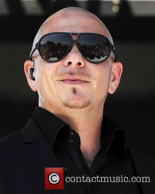 Pitbull aka Mr 305 performs during Sunfest West...