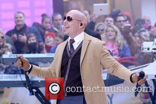 Pitbull, Today, Rockefeller Center