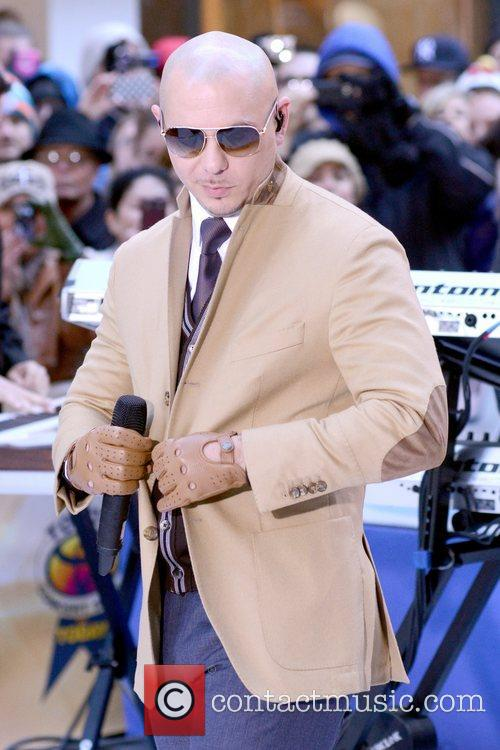 Pitbull, Today and Rockefeller Center 12