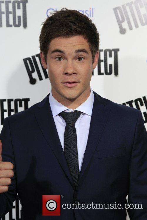 Adam DeVine Los Angeles premiere of 'Pitch Perfect'...