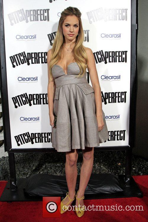 Alexis Knapp Los Angeles premiere of 'Pitch Perfect'...