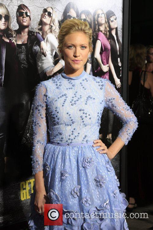 Brittany Snow Los Angeles premiere of 'Pitch Perfect'...