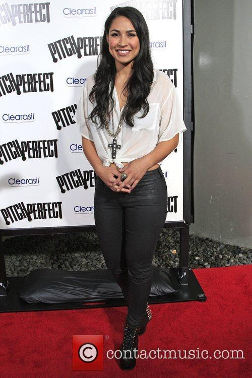 Cassie Steele  Los Angeles premiere of 'Pitch...