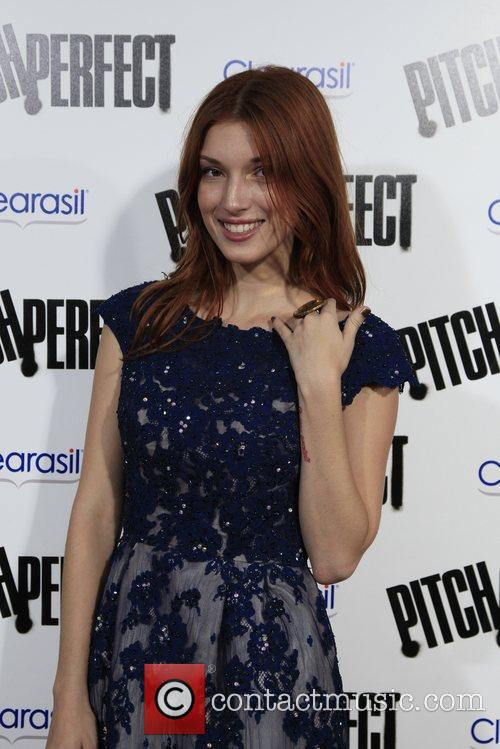Dani Thorne  Los Angeles premiere of 'Pitch...