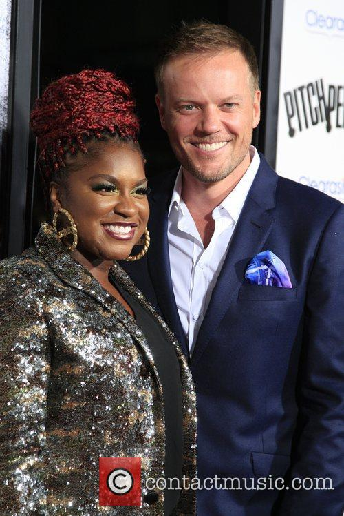 Ester Dean and Jason Moore