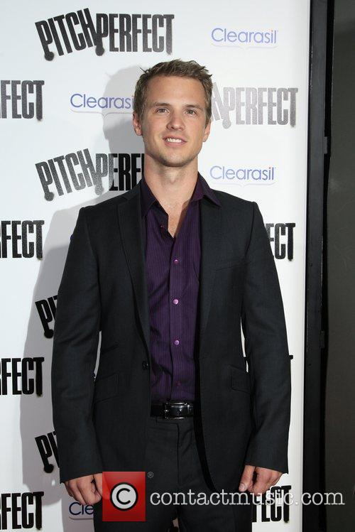 Freddie Stroma  Los Angeles premiere of 'Pitch...