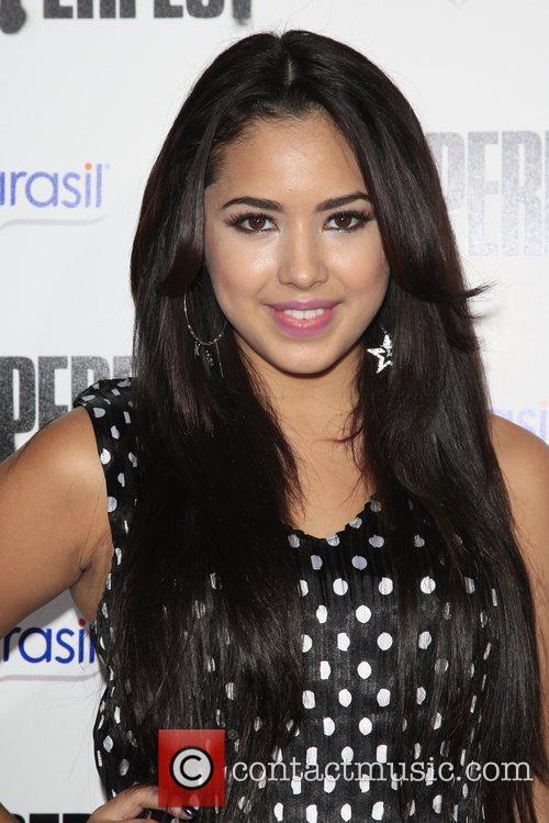 Jasmine V  Los Angeles premiere of 'Pitch...