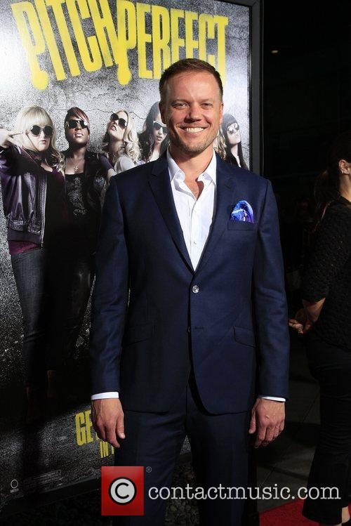Jason Moore  Los Angeles premiere of 'Pitch...
