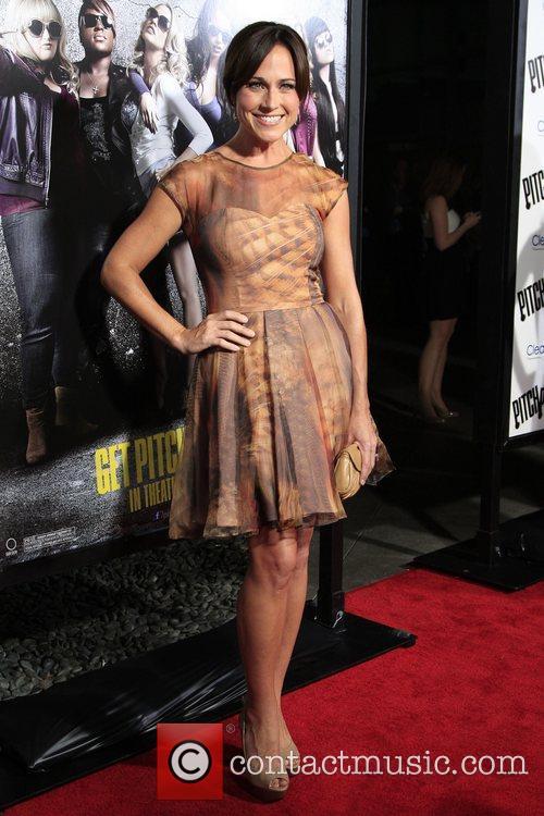Nikki DeLoach  Los Angeles premiere of 'Pitch...