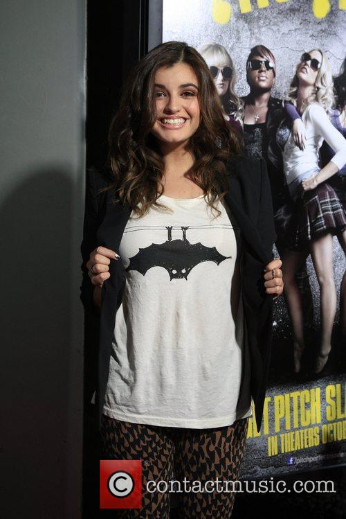Rebecca Black Los Angeles premiere of 'Pitch Perfect'...