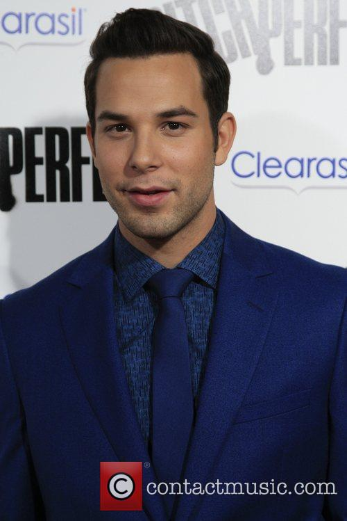 Skylar Astin Los Angeles premiere of 'Pitch Perfect'...
