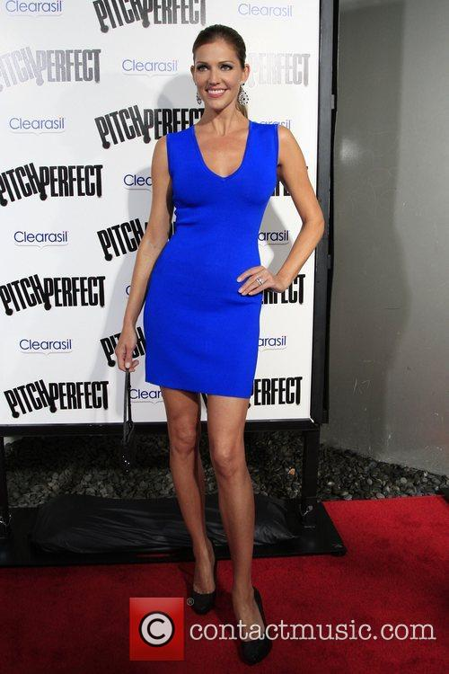 Tricia Helfer Los Angeles premiere of 'Pitch Perfect'...