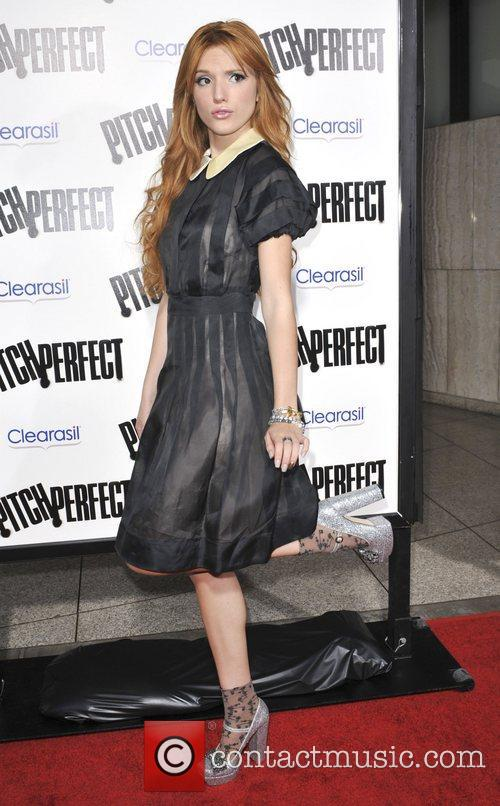 Bella Thorne  Los Angeles premiere of 'Pitch...