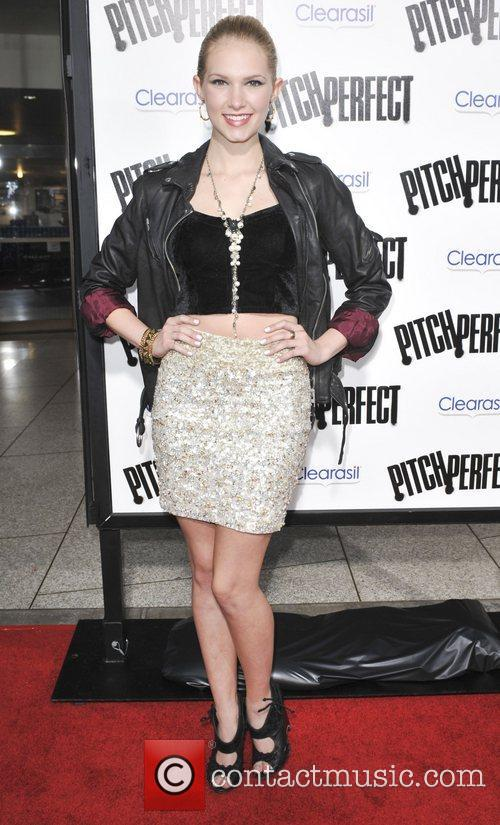 Claudia Lee  Los Angeles premiere of 'Pitch...